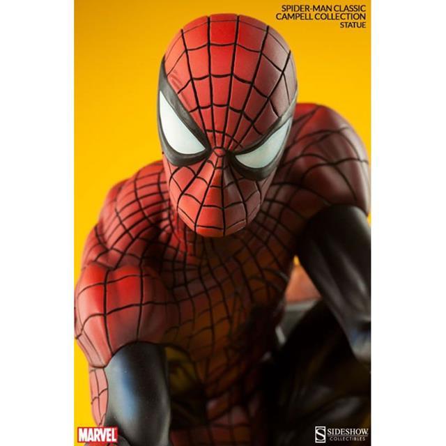 Spider-Man Classic Polystone Estátua J. Scott Campbell Spider-Man Collection - Sideshow