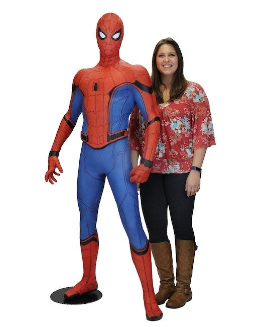 Spiderman Homecoming - 1/1 Foam Replica
