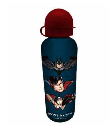 Squeeze Alumínio Liga da Justiça Personagens (Justice League) 500ML - Urban
