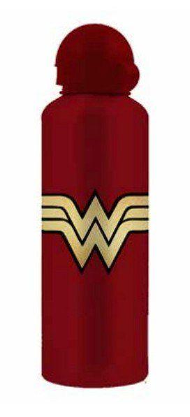 Squeeze Alumínio Logo Mulher-Maravilha (Wonder Woman): DC Comics 500 ML - Urban