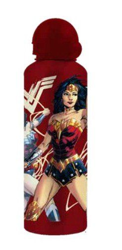 Squeeze Alumínio Wonder Woman (Mulher-Maravilha) Fases: DC Comics 500ML - Urban