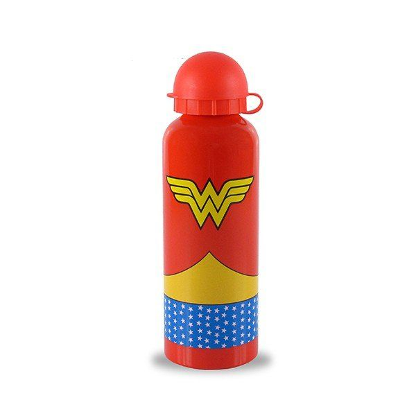 Squeeze Alumínio Wonder Woman (Mulher-Maravilha) Logo: DC Comics