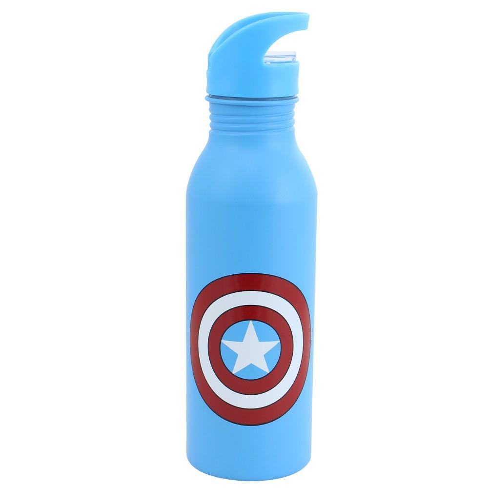 Garrafa Marvel Capitão América - Zona Criativa