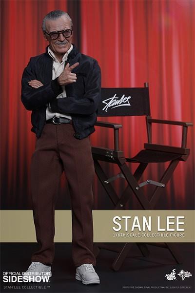 Boneco Stan Lee: Marvel Comics Escala 1/6 (MMS327) - Hot Toys - CG