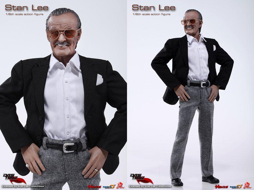 Boneco Stan Lee (Limited Edition) Escala 1/6 - Das Toyz