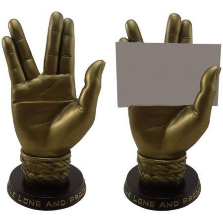 Star Trek Mr. Spock Business Card Holder (Porta cartão) - Icon Heroes
