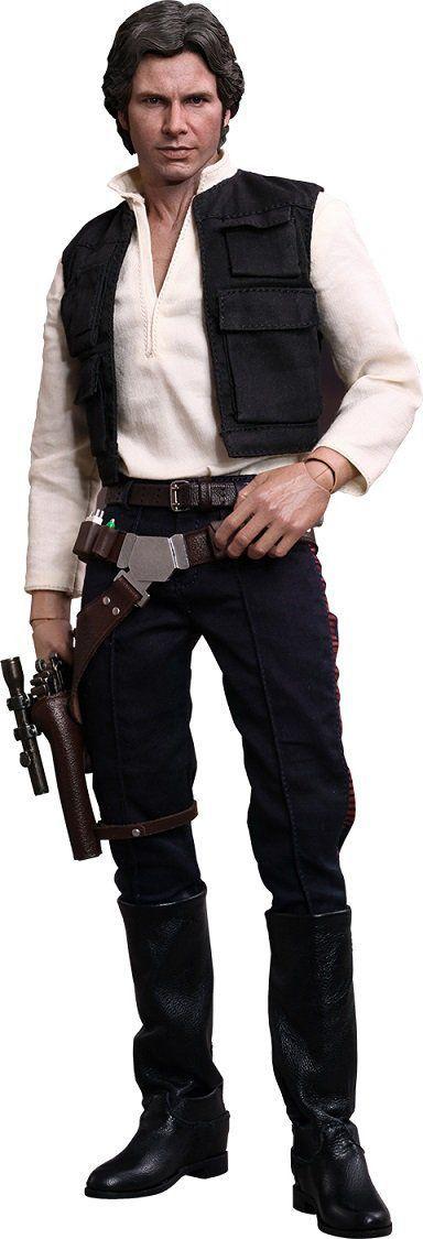 Boneco Han Solo: Star Wars Episódio IV: Uma Nova Esperança Escala 1/6 - Hot Toys