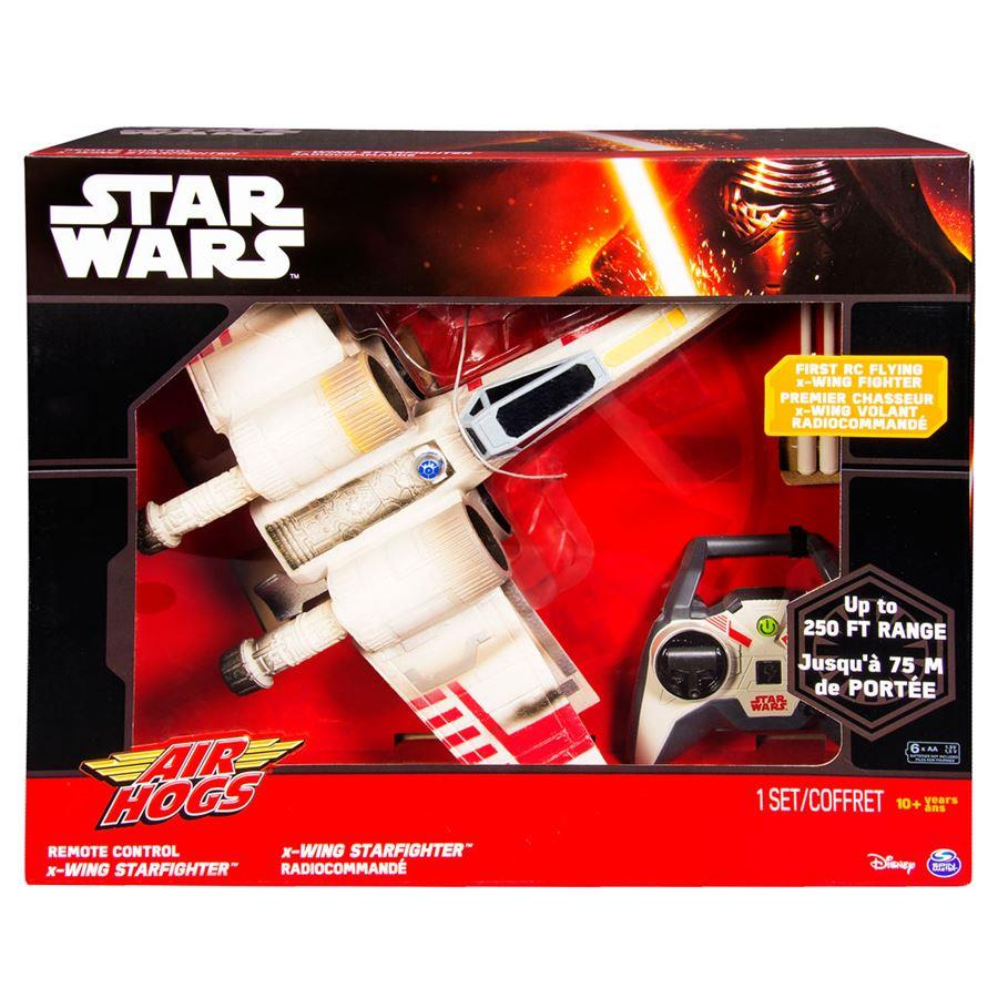 Star Wars : Drone X-Wing Starfighter Controle Remoto - Spin Master
