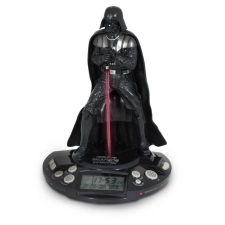 Star Wars Alarm Clock Radio Darth Vader Black - Diamond