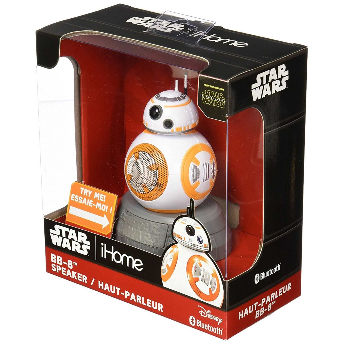 Caixa de Som BB-8: Star Wars: Bluetooth Speaker - Disney