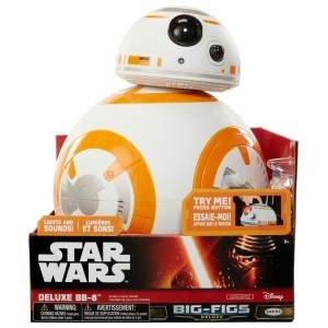 Robô BB-8 Star Wars Deluxe - DTC  (Som e Luz)