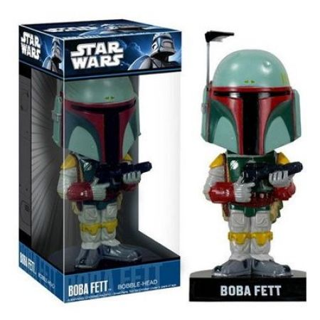 Funko Star Wars Boba Fett - Bobble Head Wacky Wobbler - Funko