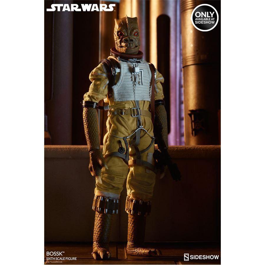 PRÉ VENDA: Boneco Bossk: Star Wars Exclusivo Escala 1/6 - Sideshow