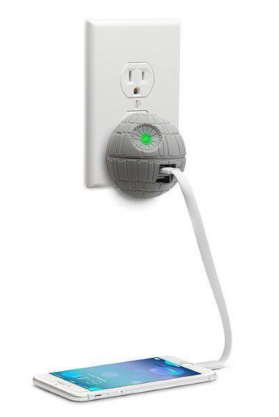Star Wars Carregador de Parede USB Death Star - ThinkGeek (Apenas Venda Online)