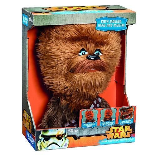 Boneco Star Wars Chewbacca (Pelúcia Falante) - Underground Toys