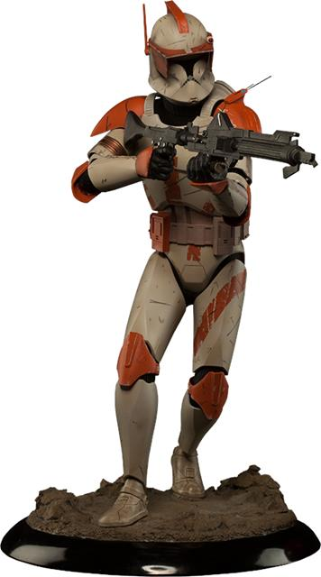 Star Wars Commander Cody Premium Format Escala 1/4 - Sideshow EPP