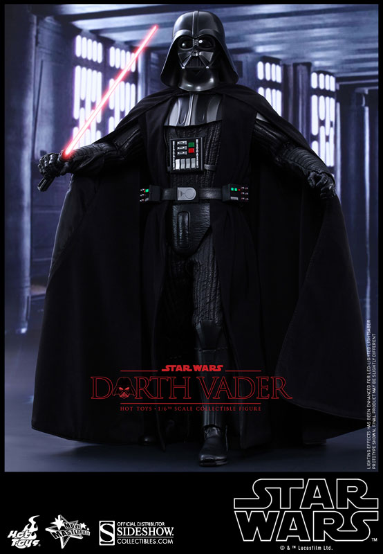 Action Figure Darth Vader: Star Wars Uma Nova Esperança (A New Hope) Escala 1/6 (MMS279) - Hot Toys