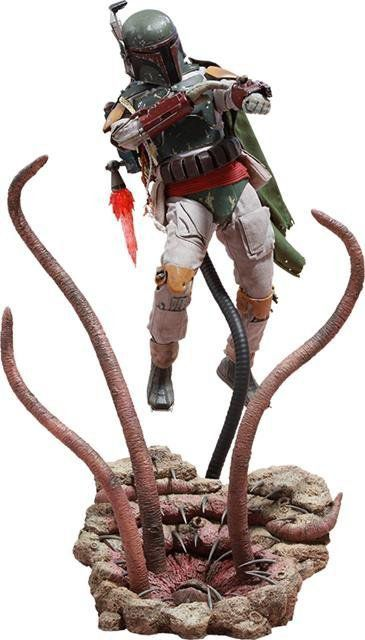 Boneco Boba Fett (Deluxe Version):Star Wars O Retorno de Jedi (Return of the Jedi) Escala 1/6 (MMS313) - Hot Toys - CG