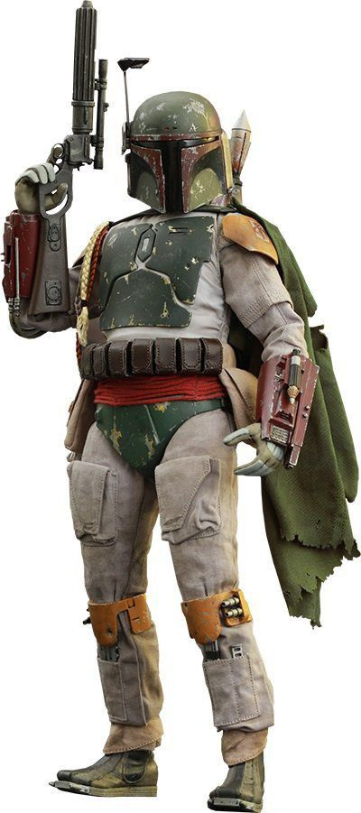 Boneco Boba Fett: Star Wars Episódio 6: O Retorno de Jedi Escala 1/6 - Hot Toys - CD