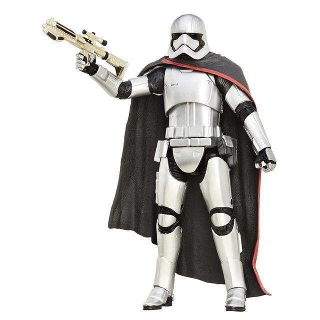 Boneco Captain Phasma (Capitã Phasma): Star Wars (The Black Series) #06 - Hasbro