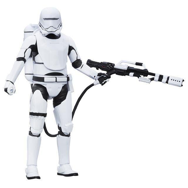 Boneco First Order FlameTrooper: Star Wars (The Black Series) #16 - Hasbro