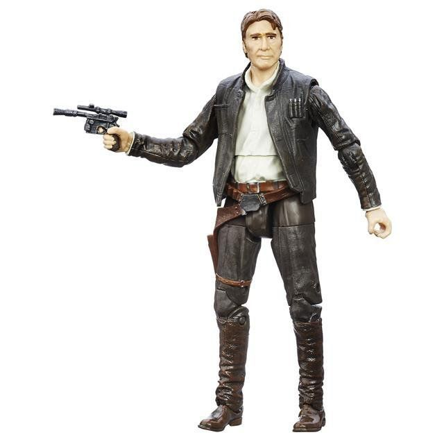 Boneco Han Solo: Star Wars (The Black Series) #18 - Hasbro