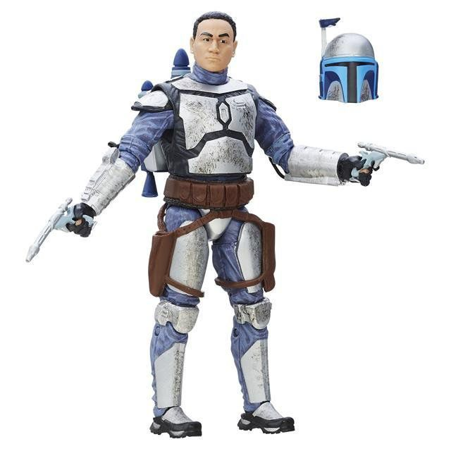 Action Figure: Jango Fett: Star Wars (The Black Series)  - Hasbro