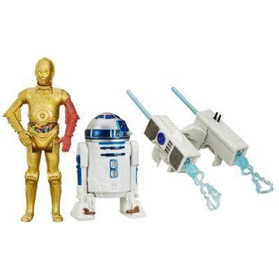 Star Wars Episódio VII Figuras Duplas: C-3PO e R2-D2 - Hasbro