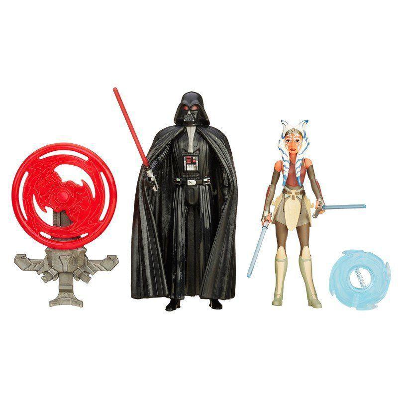 Star Wars Episódio VII Figuras Duplas: Darth Vader e Ahsoka Tano - Hasbro