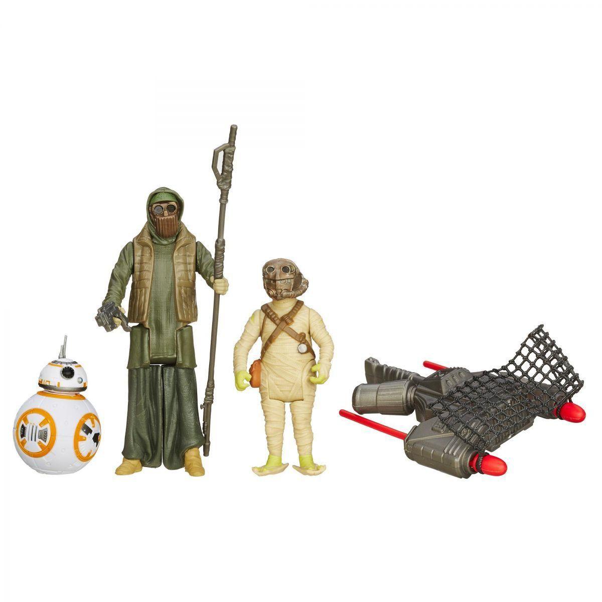Star Wars Episódio VII Figuras Duplas: Unkar's Thug e Brute D Unkar - Hasbro