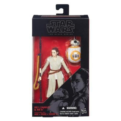 Boneco Rey (Jakku) & BB-8: Star Wars (The Black Series) #02 - Hasbro