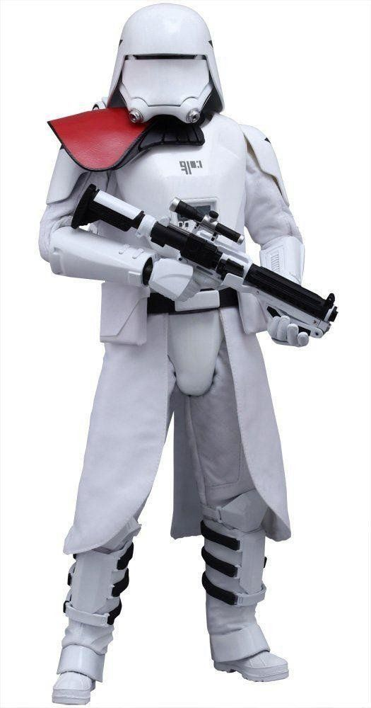 Boneco First Order Snowtrooper Officer: Star Wars: O Despertar da Força Escala 1/6 (MMS323) - Hot Toys