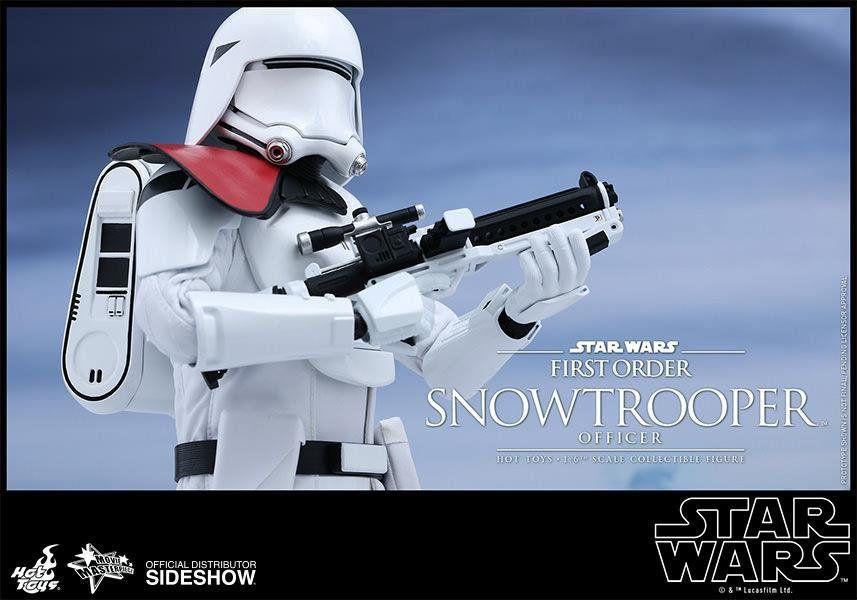 Boneco First Order Snowtrooper Officer: Star Wars: O Despertar da Força Escala 1/6 (MMS323) - Hot Toys - CD
