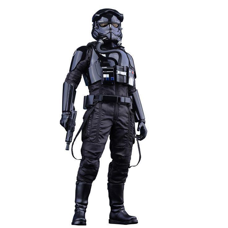 Boneco First Order TIE Pilot: Star Wars: O Despertar da Força Escala 1/6 (MMS324) - Hot Toys