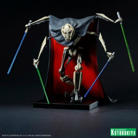 Estátua General Grievous: Star Wars III A Vingança dos Sith (Revenge of the Sith) ArtFX+ - Kotobukiya - CG