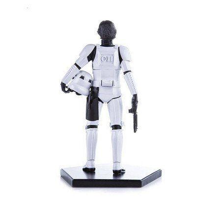 Estátua Han Solo Stormtrooper Disguise: Star Wars Episódio 4: Uma Nova Esperança Escala 1/10 - Iron Studios - CD