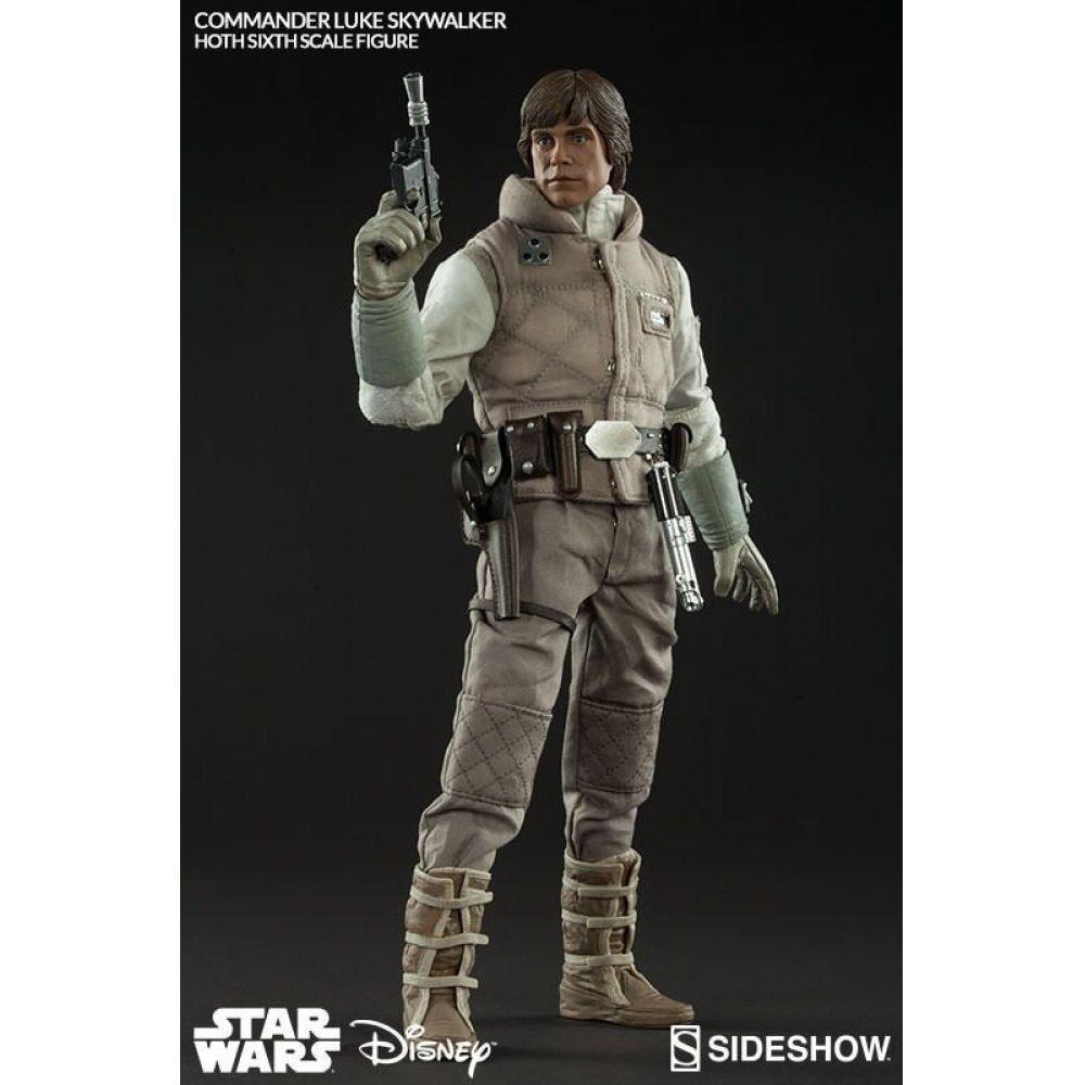 Boneco Luke Skywalker (Hoth): Star Wars Episódio V: O Império Contra-Ataca Escala 1/6 - Sideshow