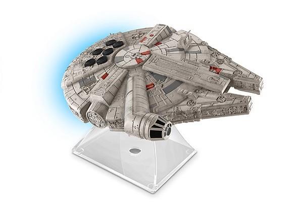 Caixa de Som Millennium Falcon: Star Wars: O Despertar da Força Bluetooth Speaker - Ekids