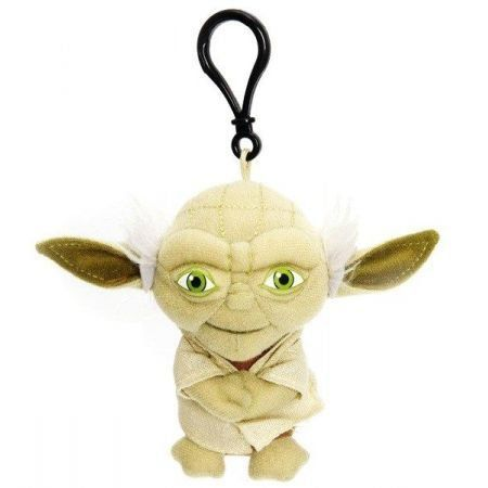 Star Wars Mini Pelúcia Falante Yoda - Underground Toys