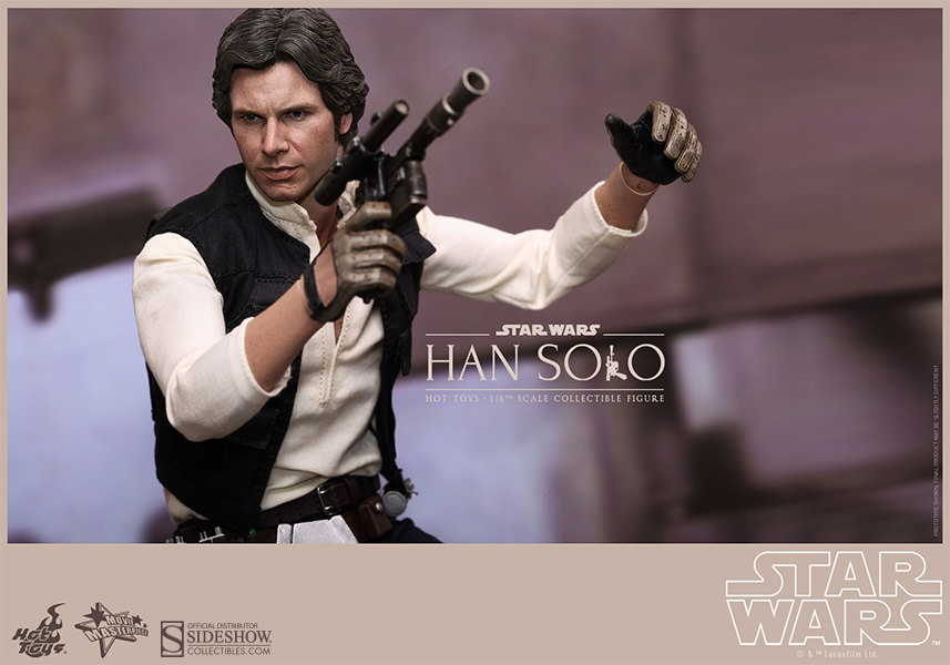 Star Wars Movie Masterpiece Han Solo & Chewbacca Escala 1/6 - Hot Toys