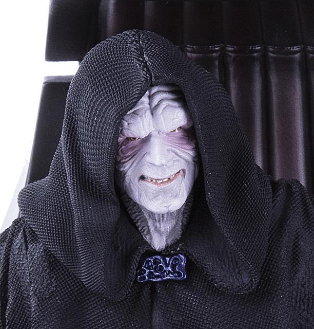 Estátua Darth Sidious (Imperador Palpatine): Star Wars Art Scale Escala 1/10 - Iron Studios