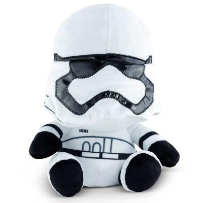 Star Wars Pelúcia com Som: First Order Stormtrooper - DTC