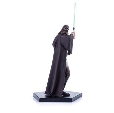 Estátua Qui-Gon Jinn: Star Wars: A Ameaça Fantasma (Escala 1/10) - Iron Studios - CD