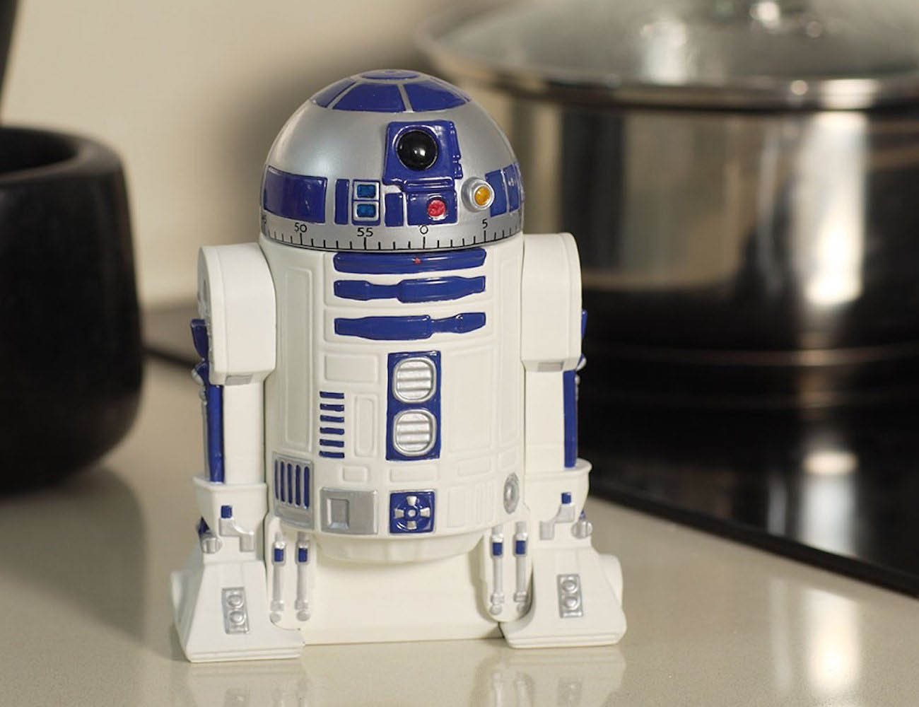 Star Wars R2-D2 Kitchen Timer- ThinkGeek (Apenas Venda Online)