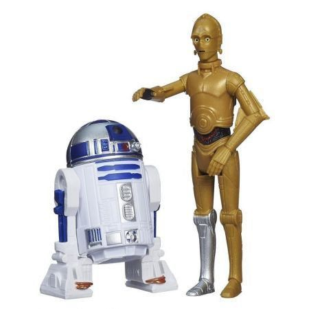 Star Wars Rebels C3p0 And R2 D2 Mission Series - Hasbro