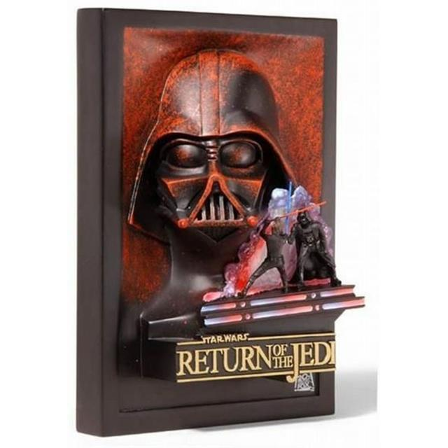 Star Wars Return Of The Jedi Movie Poster Collectible Sculpture Code 3 Collectibles