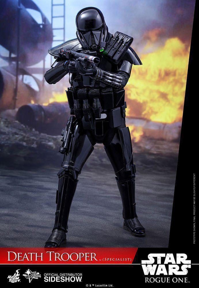 Boneco Death Trooper (Specialist): Star Wars Rogue One 1/6 (MMS385) - Hot Toys - CD