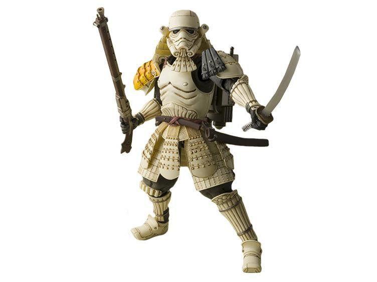 Star Wars Samurai Teppo Ashigaru Sandtrooper Tamashii Nations - Bandai