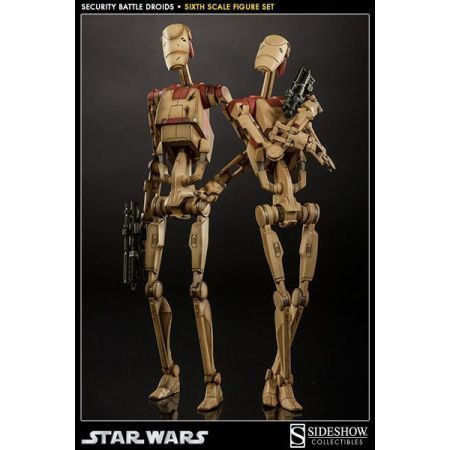 Star Wars Security Battle Droids 1:6 - Sideshow