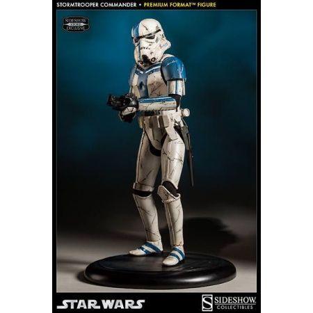 Estátua Stormtrooper Commander: Star Wars Premium Format Escala 1/4 - Sideshow - CG